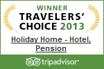 Winner Travelers choice 2013